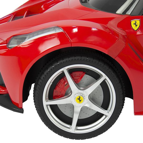 Kid's 82700 Rastar LA Ferrari Electric Ride on Car with Mp3 and Remote Control, 12V, Red